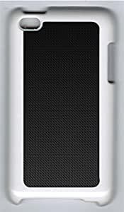 iPod 4 Cases & Covers - Carbon Fiber PC Custom Soft Case Cover Protector for iPod 4 - White