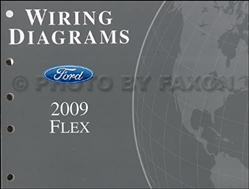 2009 ford flex wiring diagram ford motor company amazon com books Ford Model A Wiring 2009 ford flex wiring diagram paperback \u2013 2009