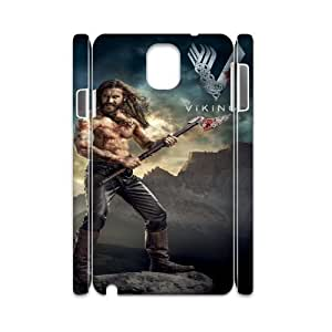 Vikings HILDA0014043 3D Art Print Design Phone Back Case Customized Hard Shell Protection Samsung galaxy note 3 N9000