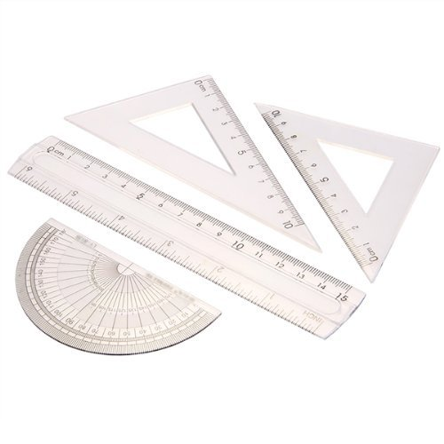 Sonline Students Geometry Stationery Protractor