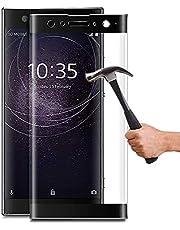 Lapinette Full Tempered Glass Compatibel met Sony Xperia XA2 Ultra - Screenprotector van Gehard Glas Xperia XA2 Ultra Full - 9H Force Glass - Volledige Dekking Bescherming Gehard Glas