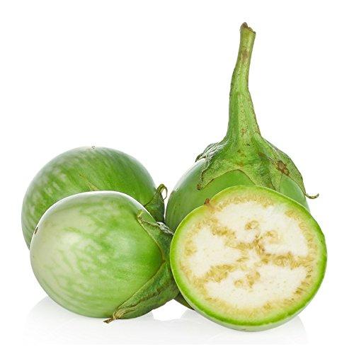 (Seedline Thai Round Eggplant Seed (250 seeds) - Herb Heirloom)