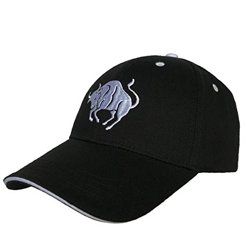 Telea 100% Cotton Baseball Cap Zodiac Embroidery One Size Fits All for Men and Women -