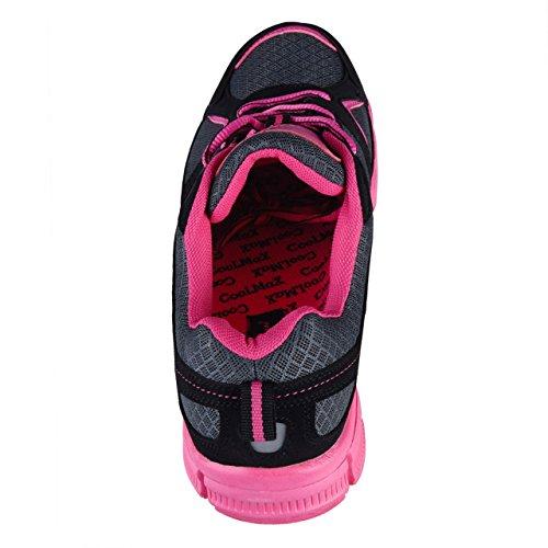 Shoes Women's Black Court HSM Pink Indoor ztqw4