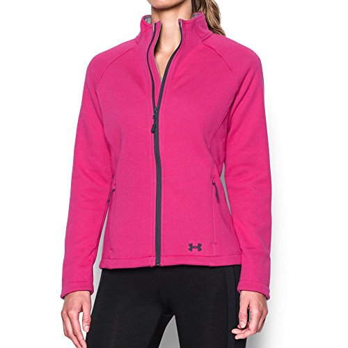 Under Armour Women's Granite Jacket, Tropic Pink/Steel, Small