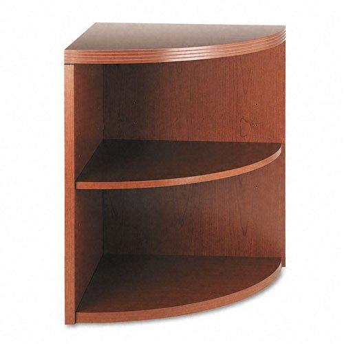 HON Valido 11500 Series End Cap Bookcase, 2 Shelves, 24 W by 24 D by 29-1/2 H, Bourbon ()