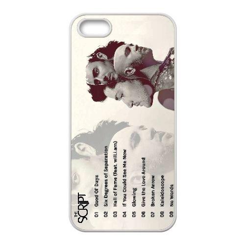 E8C26 The Script Y6K4AG coque iPhone 4 4s cellule de cas de téléphone couvercle coque blanche SE5EUU3KF
