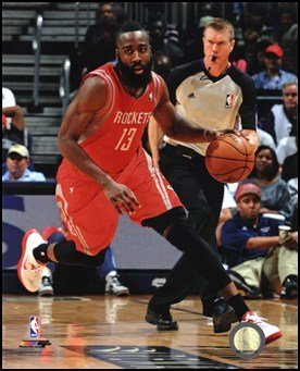 James Harden 2012-13 Action Art Poster Print Unknown
