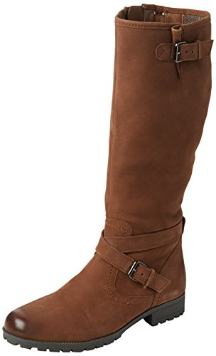 Hotter Belle, Stivali Alti Donna Marrone (Dark Tan 021)