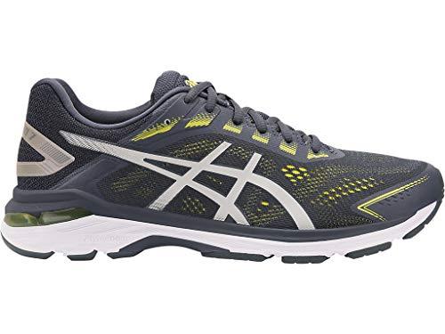 ASICS Men's GT-2000 7 Running Shoes, 10.5W, Tarmac/Lemon Spark (Mens 7 Running Shoes)