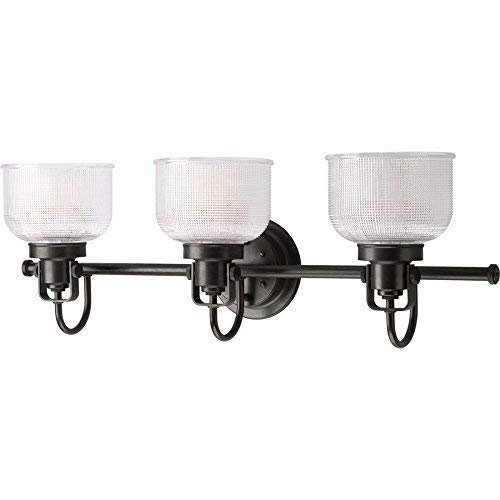 Progress Lighting Archie 3 Light Venetian Bronze Bowl Vanity Light, Up/downlighting, -
