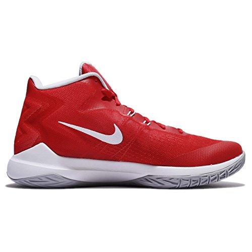 Nike Maglietta a maniche corte Legend da donna rosso (University Red/White-Wolf Grey)