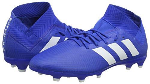 001 Adidas ftwbla fooblu Fg Garçon Nemeziz 18 Football J De 3 Chaussures Bleu fooblu qqpO1