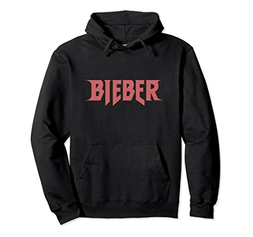 Unisex Justin Bieber Red Bieber Logo Hoodie Small - Red Justin