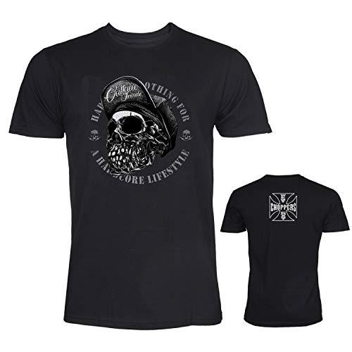 Technical Art Favourites By AdvanceRun On DeviantArt West Coast Chopper Men's Logo T-Shirt Large Black