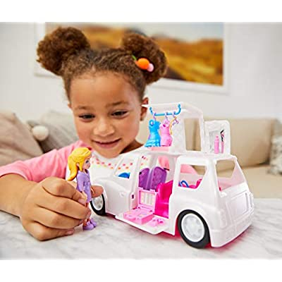 Polly Pocket Arrive in Style Limo [ Exclusive]: Toys & Games