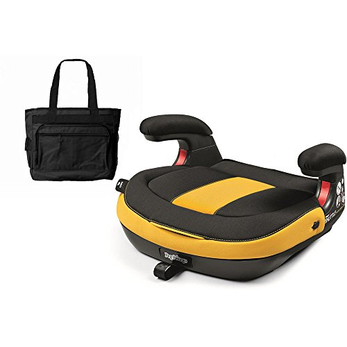 Peg Perego Viaggio Shuttle Backless Booster - Daytona with Stylish Diaper Bag by Peg Perego