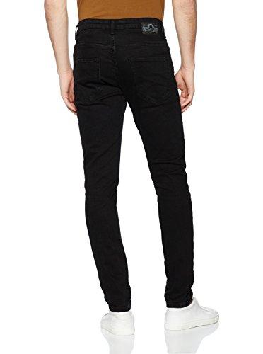 Celio Herren Skinny Jeans Fosklack Noir (Black), W34