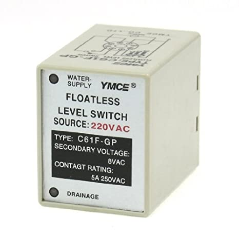 Interruptor de Control eDealMax AC220V C61F GP-líquido sin flotador de nivel: Amazon.com: Industrial & Scientific