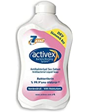 Activex Antibakteriyel Sıvı Sabun, Nemlendiricili, 1.5 lt