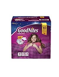 GoodNites Bedtime Underwear for Girls (Size L/XL, 58 ct.) BOBEBE Online Baby Store From New York to Miami and Los Angeles