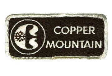 Copper Mountain 1970's Colorado Vintage Ski Patch