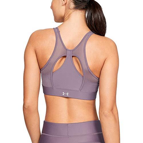Under Armour Women's Armour Mesh Sportlette Bra, Purple Prime (521)/Purple Prime, X-Large (Under Bra Armour Mesh)