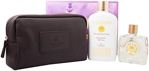 ATKINSON estuche English Lavander Eau de Toilette 90 ml + Bath Espuma 400 ml + Pouch: Amazon.es: Belleza