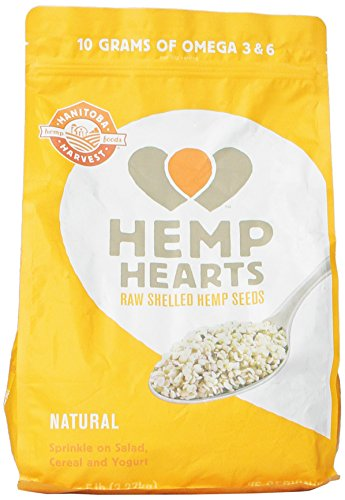 Manitoba Harvest Hemp Seed Nut - Manitoba Harvest Hemp Hearts Raw Shelled Hemp Seeds, 5 Pound