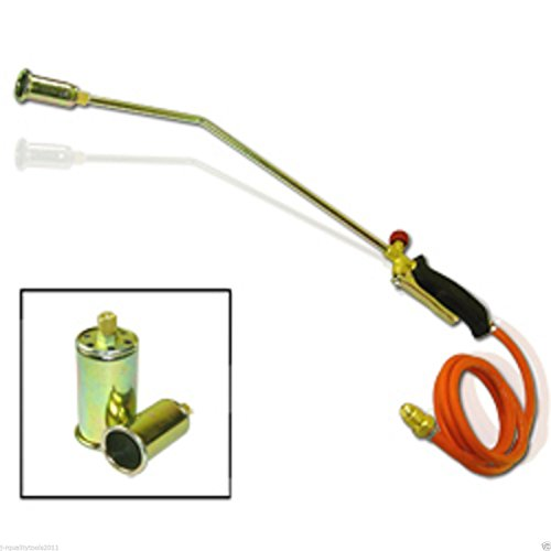 Propane Torch w/2 Extra Nozzle Ice Melter Weed Burner by JRQ1