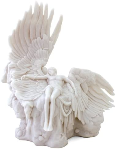 Icarus Statue Sculpture Greek Mythology Ships Immediatly Sale