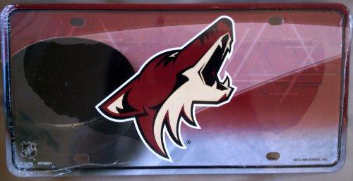 - Rico NHL Arizona Coyotes Metal License Plate Tag