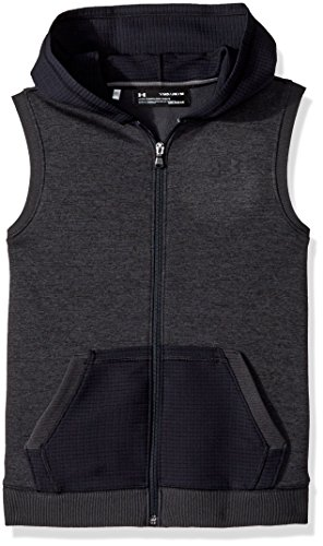 - Under Armour Boys' Storm SF Hoodie Vest, Black (001)/Black, Youth Large