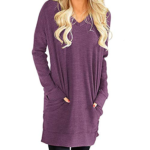 Circo Newborn Girls Dress - Londony ♥‿♥ Clearance Sales 2018,Women's Long Sleeve V Neck Tunic Tops Casual Loose Swing T-Shirt Dress