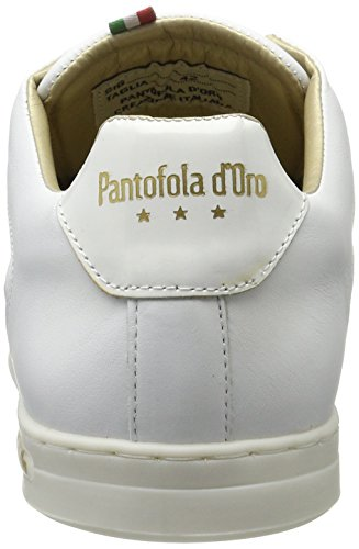 Pantofola d'Oro Auronzo Braided Uomo Low - Tobillo bajo Hombre Blanco (Bright White)