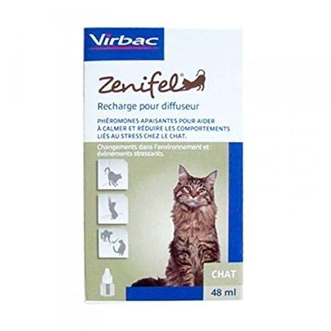 Zenifel VN100440 Difusor y Recambio 48 ML, Un tamaño: Amazon.es: Productos para mascotas