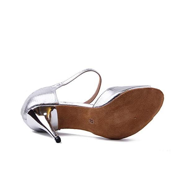 Zapato fiesta plateado - Syrads