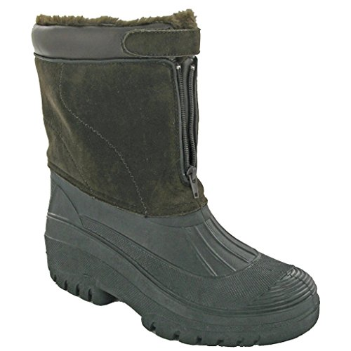 Black Ladies Boots Wellington Venture Cotswold Wet Weather Waterproof Boot xz6xW0n