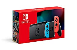 Get the gaming system that lets you play the games you want, wherever you are, however you like. Includes the Nintendo Switch console and Nintendo Switch dock in black, with contrasting left and right Joy‑Con controllers-one red, one blue. Also inclu...