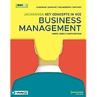 Jacaranda Key Concepts in VCE Business Management Units 1&2 6e learnON & print & studyON