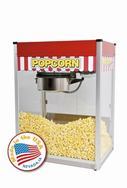 Paragon Classic Pop 14 Ounce Popcorn Machine for Professional Concessionaires Requiring Commercial Quality High Output Popcorn Equipment