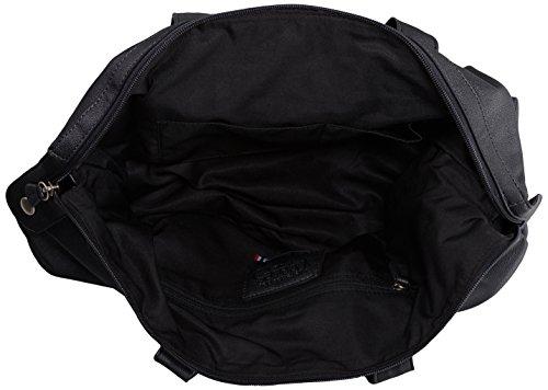 Le Temps des Cerises Motor 2, Sac porté épaule Noir (Noir 0109)