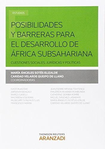 Descargar Libro Posibilidades Y Barreras Para El Dasrrollo De África Subsahariana Mª Ängeles Sotés Elizalde