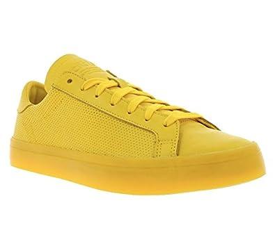 sale retailer 987fa 8674f adidas Originals Court Vantage Adicolor Chaussures Jaune S80254