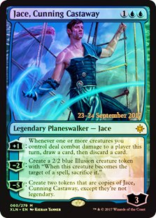 (Magic: The Gathering - Jace, Cunning Castaway - Foil - Prerelease Promo)