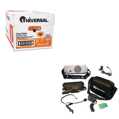 KITAPLS207UNV21200 - Value Kit - Amplivox BeltBlaster PRO Personal Waistband Amplifier (APLS207) and Universal Copy Paper - Amplivox Personal Amplifier