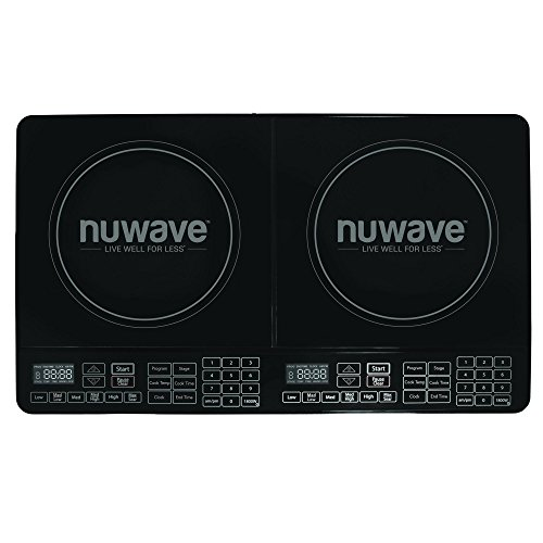 Nu Wave 30602 Electric-Countertop-Burners, Black