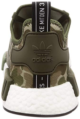 Black NMD 1 Size R1 Adidas White Green Shoes 39 3 XqxgAZw