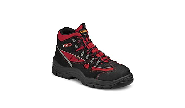 Calzado operacional, Alta Visibilidad, Primeros Auxilios 983 Soldini (43 UE, Rojo): Amazon.es: Zapatos y complementos