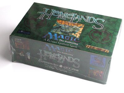 Magic The Gathering Card Game - Homelands Booster Box - 60P8C